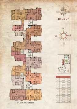 Eden Richmond Park - Block 5 1st-4th Floor Plan