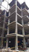 BLOCK  1 TOWER 2 ROOF SLAB CASTING DONE