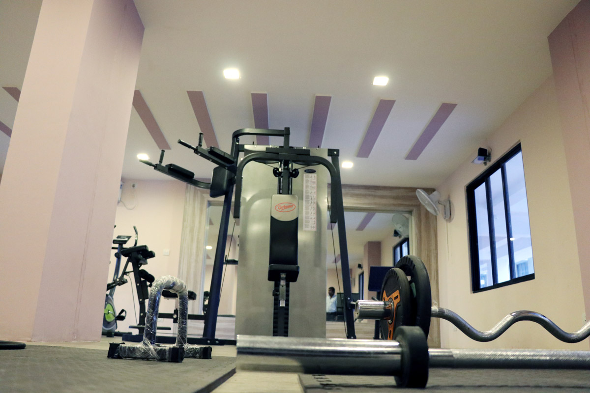 Eden Pavilion Gym Equipments