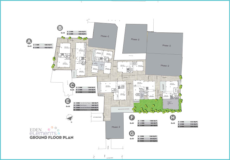 Eden Elements - Ground Floor Plan