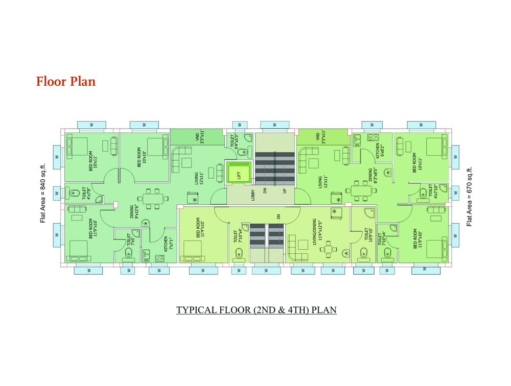Eden Ixora Floor Plan 2