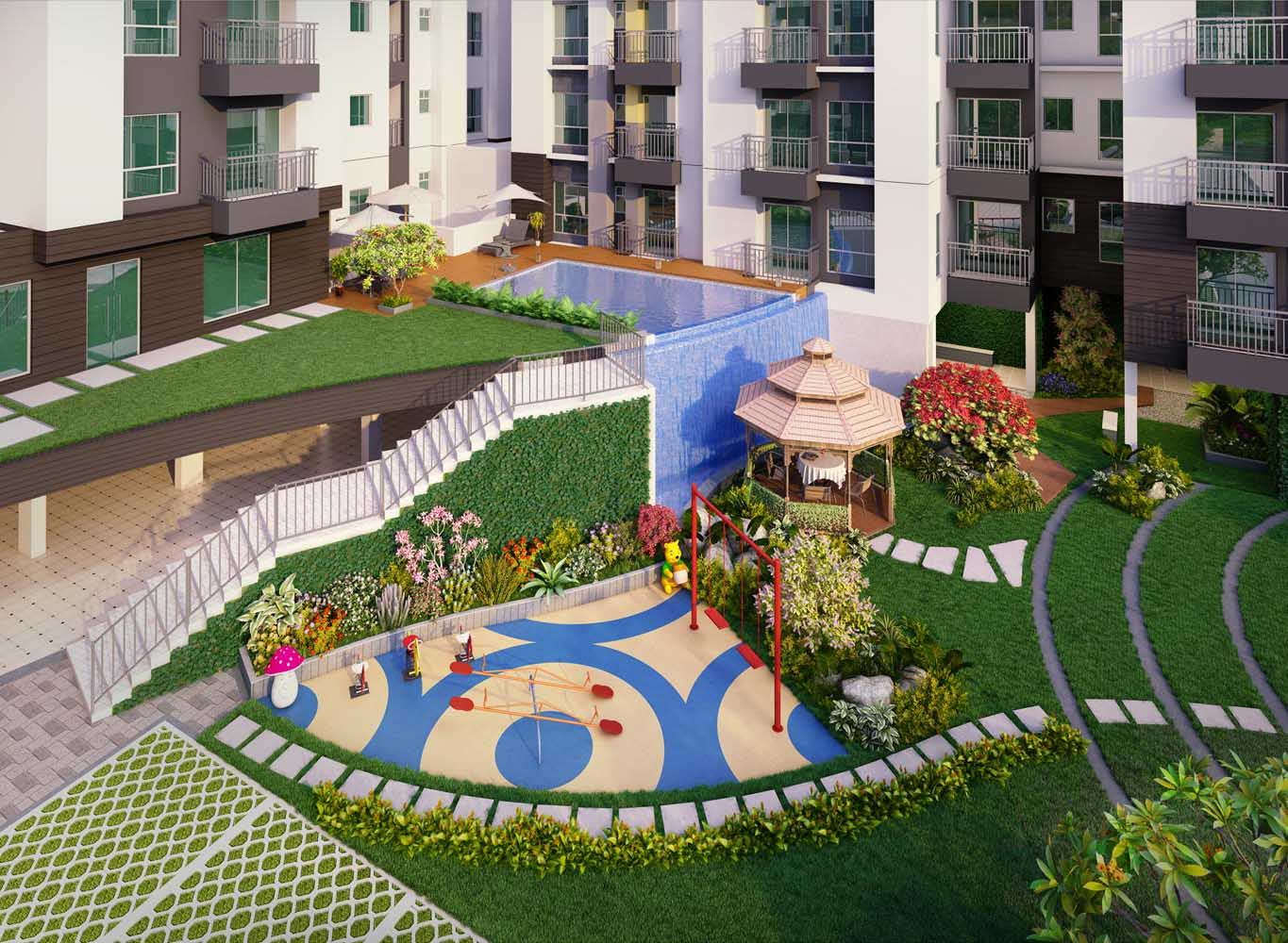 Eden Tolly Gardenia - Real Estate Property in Kolkata
