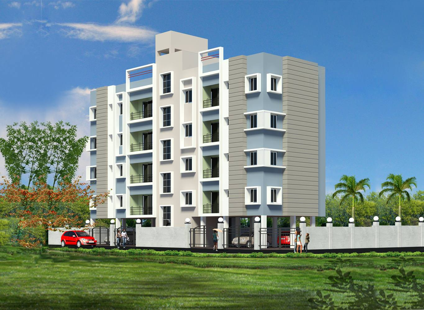 Eden Ivory - New Flats in Kolkata