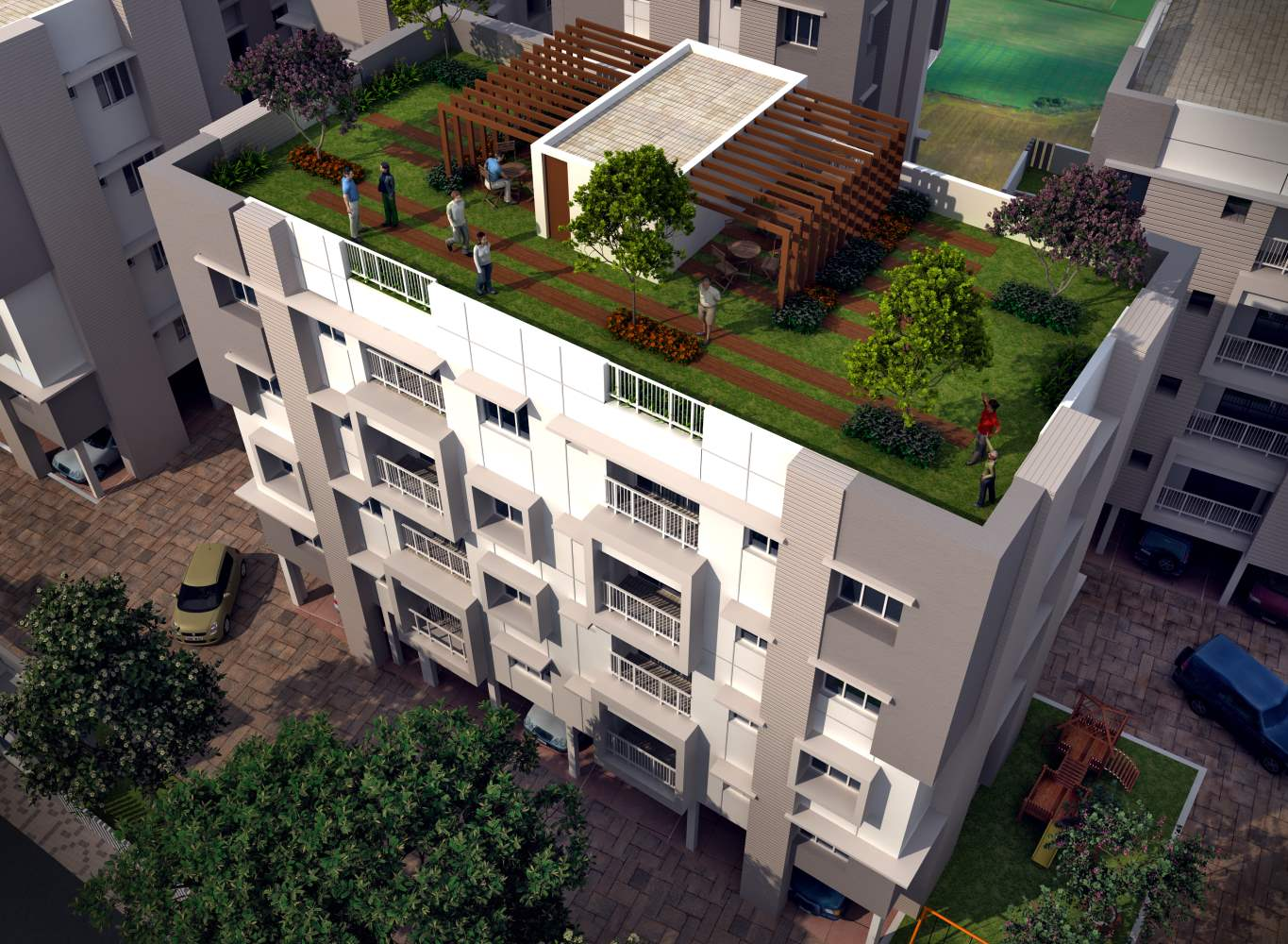 Eden Belvedere Top - Builders in Kolkata