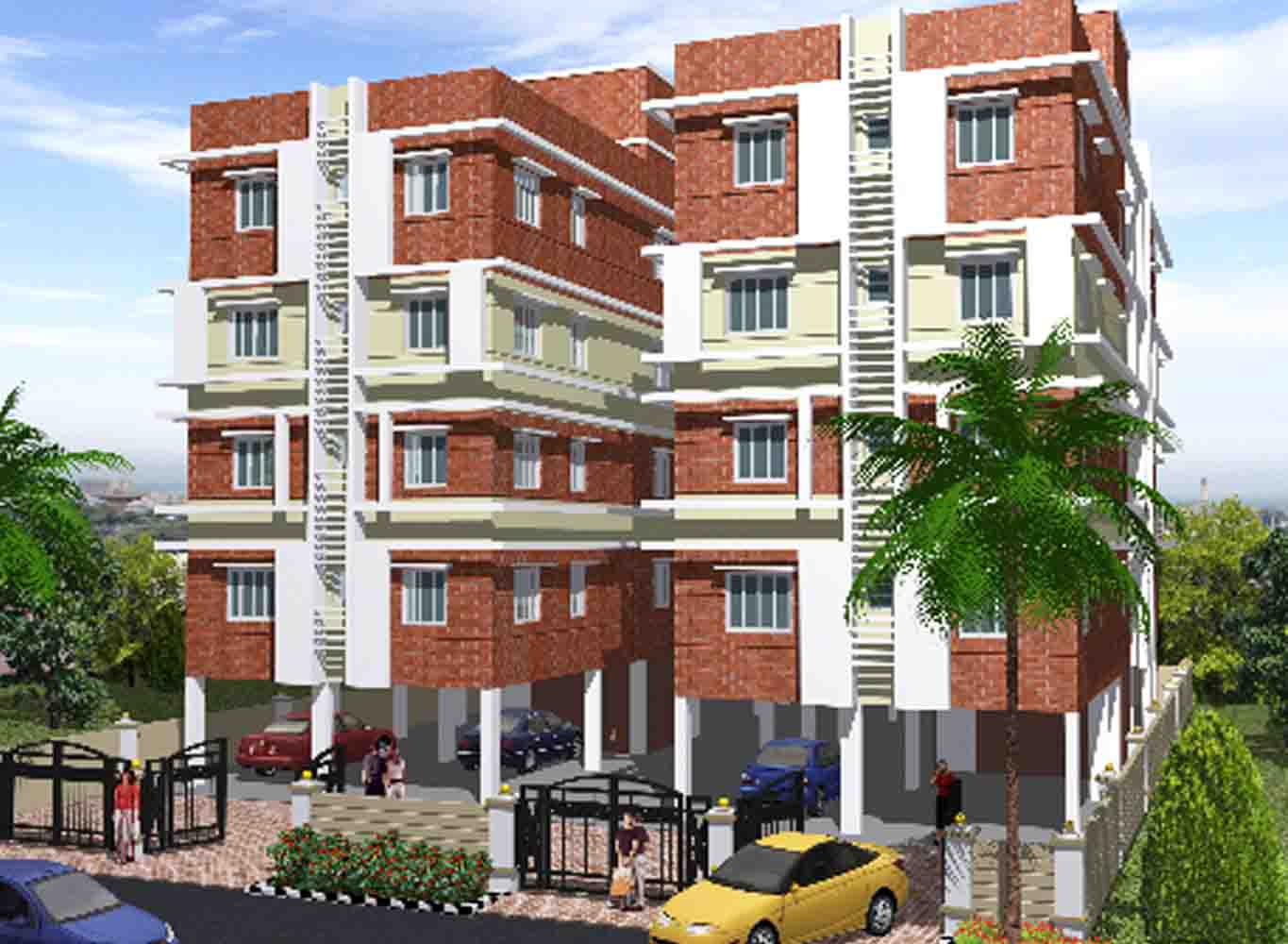 Eden Ixora- Flats in Kolkata for Sale