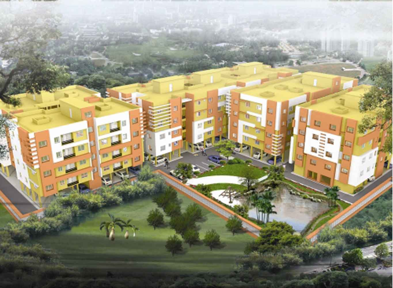 Eden Tolly Lakeside - Flats in Kolkata