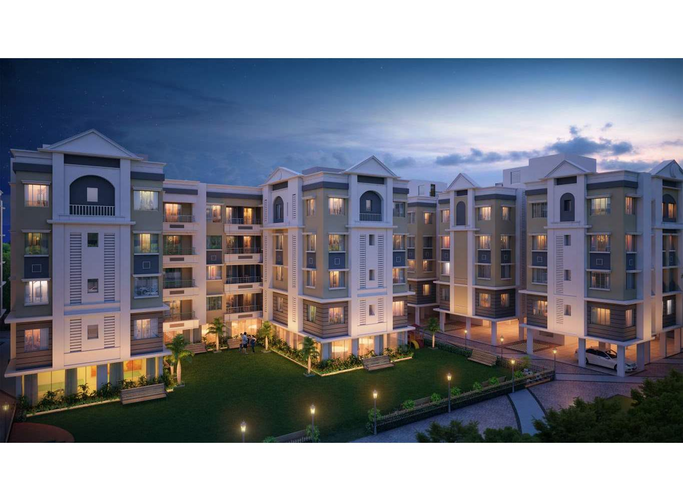 Eden Richmon Park - Real Estate Property in Kolkata