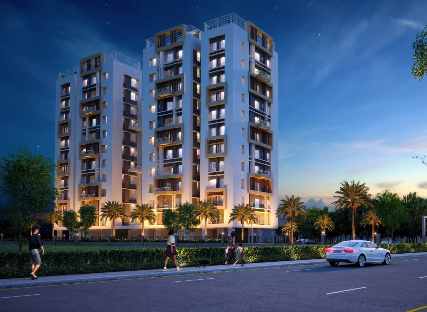 Eden Tolly Signature Plus- High Rise Residential Project